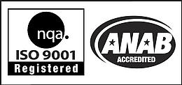 ISO 9001 Accredited